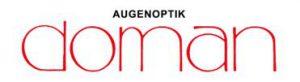 Logo augenoptik doman